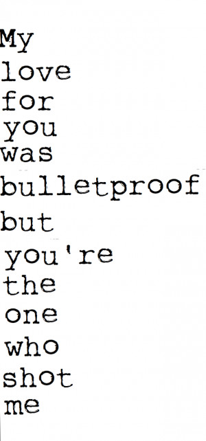 quote quotes lyrics pierce the veil bulletproof love lyric ...