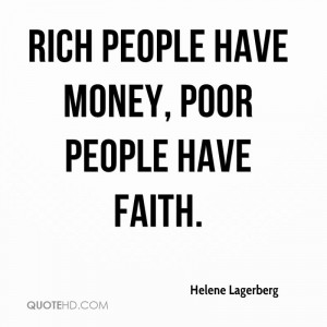 Rich And Poor People Quotes