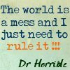 Dr. Horrible's Sing-A-Long Blog Quotes