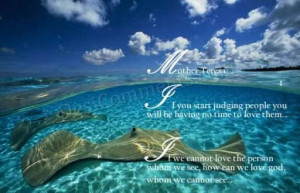 Love Quotes – Mother Teresa