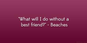 Beaches Quote