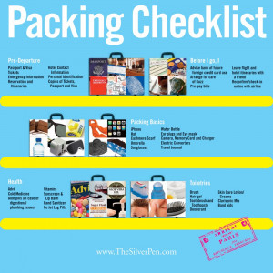 Packing Checklist Before the Voyage