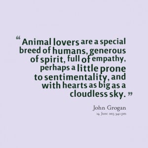 quotations on animal lovers are a special great inspiring quotations ...