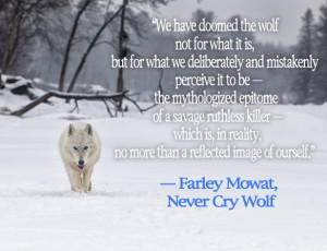 Memorable quotes from Farley Mowat