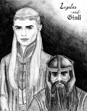 Best results for Legolas And Gimli Quotes