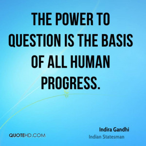 Gandhi Quotes About Power