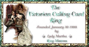 This Victorian Calling Card Ring site is owned by