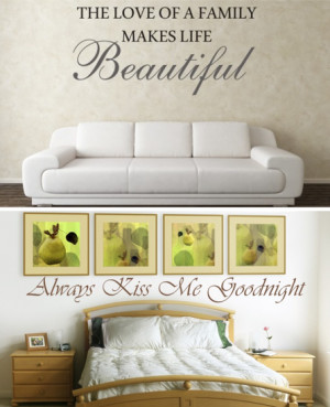 Decorate Your Home With Wall Decals from Quote the Walls