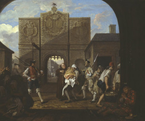 William Hogarth, 'O the Roast Beef of Old England ('The Gate of ...