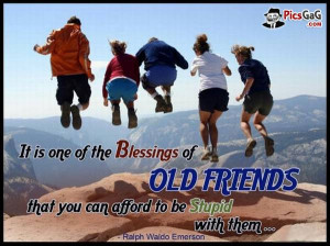 ... you that old friends are gems and you like these best friend quotes
