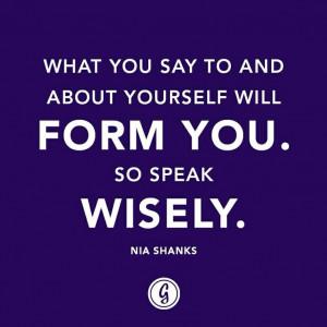Self-talk quote