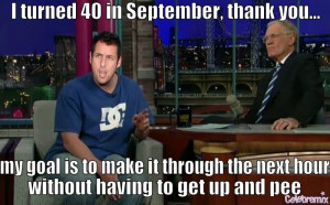 Adam Sandler Funny Quotes