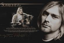 Home > Bands > Nirvana > text quotes nirvana kurt cobain sepia guitars ...