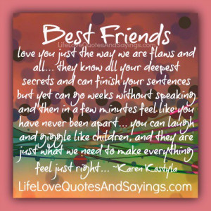 Best Friends love you ..