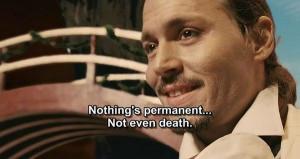 movie quote:jonny deep