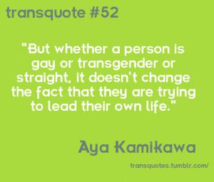 Transgender Quotes