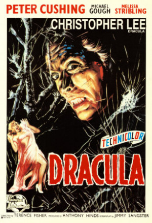 """HAMMER'S CLASSIC """"DRACULA"""" (1958) – MOVIE POSTER GALLERY!"""
