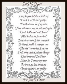 Rest In Peace Grandma Poems Beautiful poem- miss you