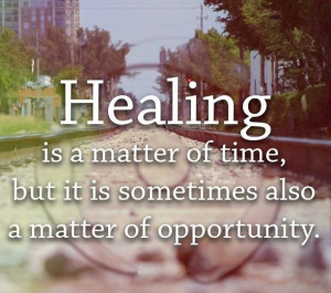 Healing takes time. Stay strong! #Strength #Motivation