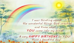 Happy Birthday Quotes Religious
