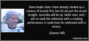 More Damon Hill Quotes
