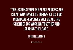 Queen Elizabeth The Lessons