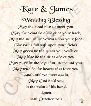 ... prayers and blessings irish wedding blessing wedding blessings quotes