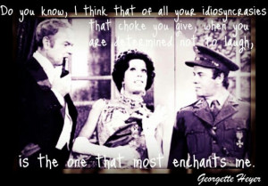 Carol Burnett Harvey Korman Tim Conway and Georgette Heyer quote