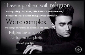 ... Quotes, Daniel Radcliff Quotes, Antitheism, Daniel Radcliffe Quotes