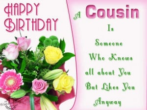 Happy Birthday Quotes for Boy Cousin
