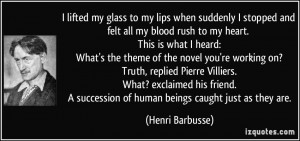 More Henri Barbusse Quotes