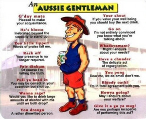 you see more funny australian stories an aussie gentleman oxymoron