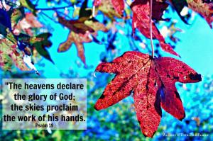 Fall Photos & Quotes
