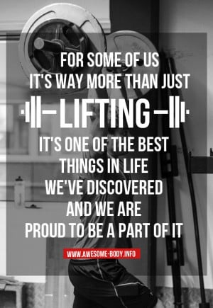 Lifting Motivational Quotes