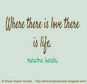 Mahatma Gandhi | Share Inspire Quotes - Inspiring Quotes | Love Quotes ...