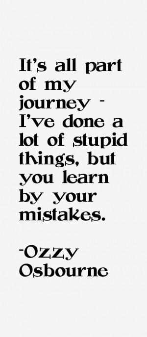 Ozzy Osbourne Quotes & Sayings