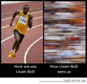 Funny photos funny Usain Bolt runner
