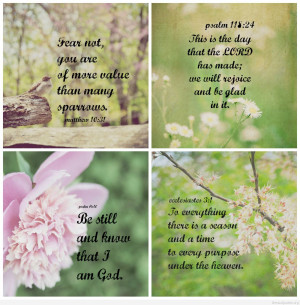 Four beautiful spring quotes