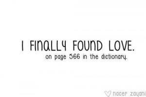 finally found love!
