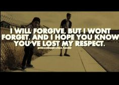 will forgive, but i wont forget // quotes