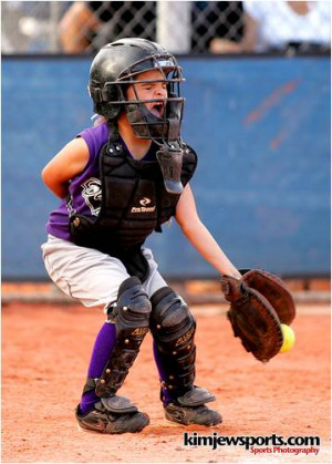 Fastpitch Softball Catcher Quotes The young softball catcher
