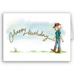 happy birthday cowgirl quotes