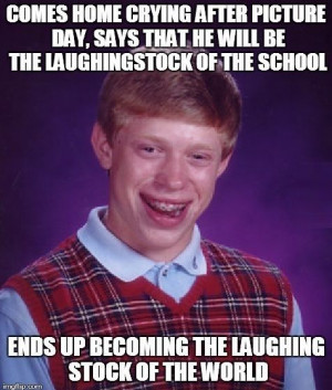 Bad Luck Brian Funny Pictures Photos Images