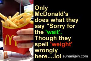 McDonald's funny jokes,laugh,Humor,Inspirational & Motivational Quotes ...