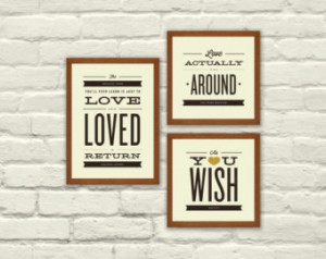 Indie Art Quotes Movie love quotes, typography,