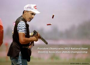 Obama Skeet Shooting Photo Made Public