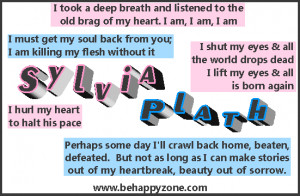 quotes for sylvia plath metaphors here are list of sylvia plath ...