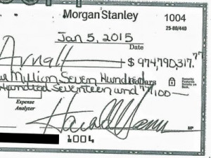Harold Hamm offers $975 million divorce check, ex-wife rejects it