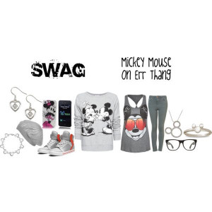 Mickey Mouse Swag Polyvore