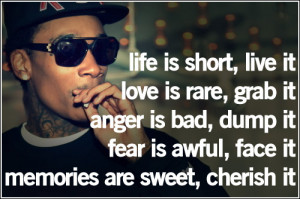wiz khalifa quotes wiz khalifa quotes about life